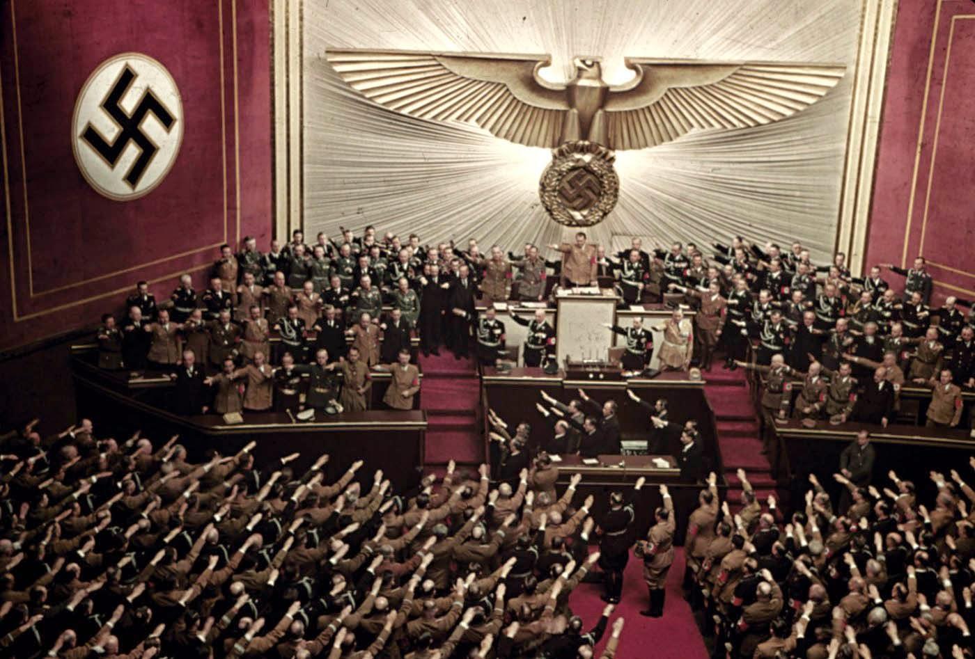 Nazizm - rasowy charakter totalitaryzmu
